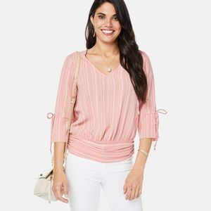 Karrinah Tie Sleeve Top